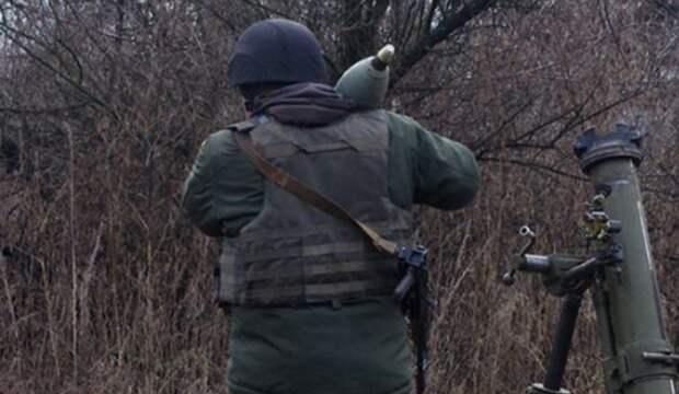 ДНР: Украина ведет ожесточенный обстрел по всей линии фронта