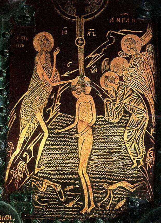 Праздник Святого Богоявления в иконах и фресках