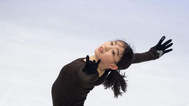Японка Кихира неудачно исполнила произвольную программу на КЧМ в Осаке