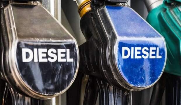 Оптовая цена на межсезонное дизтопливо обновила рекорд