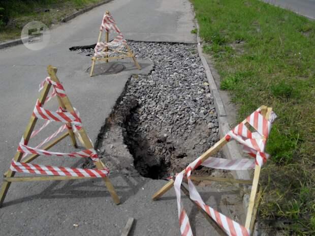 В Удмуртии разработают программу по ремонту тротуаров