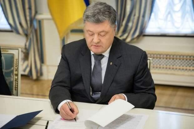 Порошенко пообещал, что Крым вернется в состав Украины через год