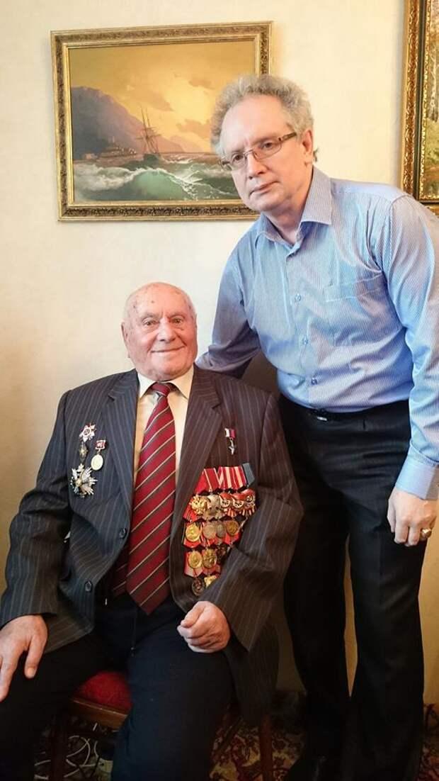 Алексей Николаевич Ботян и Андрей Ведяев