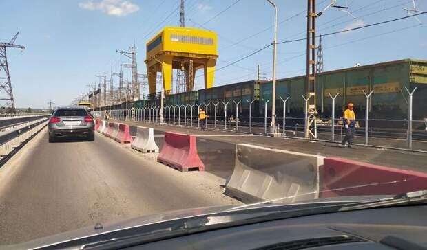 Завершается укладка асфальта напервом участке Волжской ГЭС