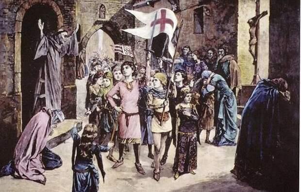 Детский крестовый поход urban, крестоносцы, папа римский, походы, так хочет бог, христиане