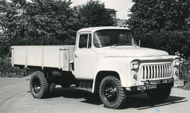 Редкий советский грузовик ГАЗ-56