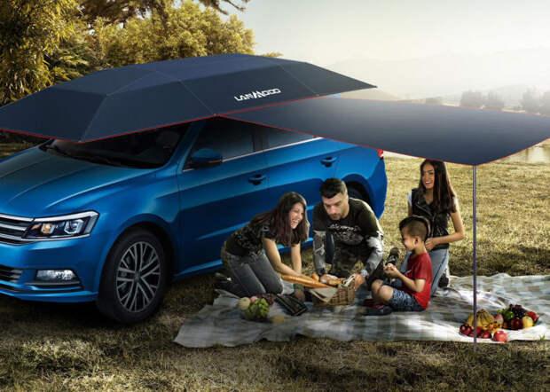 Lanmodo Car Tent – отличный аксессуар для защиты автомобиля и комфортного отдыха. /Фото: ireviews.com