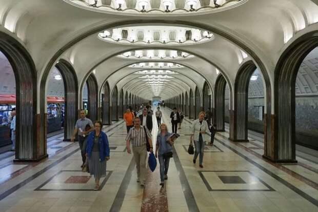Романтика прекрасной аркады: на станции «Маяковская» начнут регистрировать браки