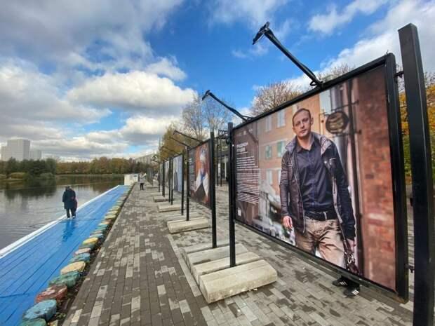 В парке «Ангарские пруды» открылась выставка о «невидимых профессиях»