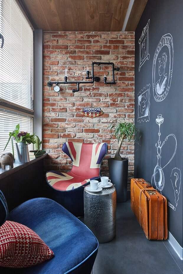 Вместо типовой лоджии и балкона: 5 идей и много примеров