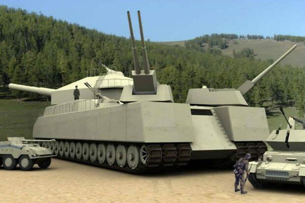 Сверхтяжелые танки СССР: конструкторы создали гигантов