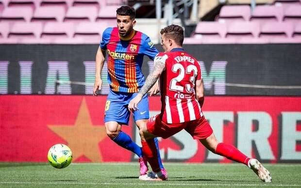 «Барселона» и «Атлетико» разошлись миром
