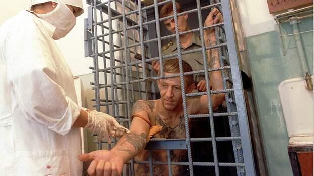 Поселение для заключенных, больных туберкулезом и СПИДом. Краснодарский край, 1998 год