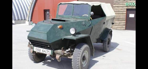 Житель Новосибирска восстановил бронеавтомобиль 1944 года выпуска