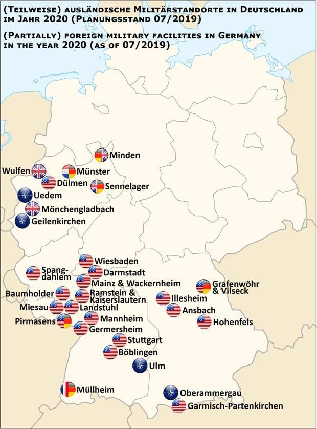 Пентагон выводит часть войск из Германии