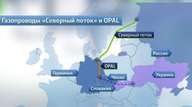 Северный поток Opal