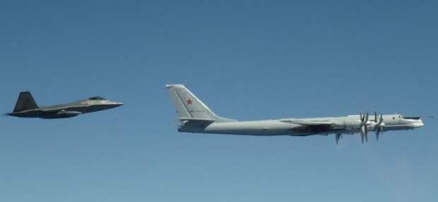 Командование ВВС США пожаловалось на разорительные полёты ТУ-95 у Аляски...