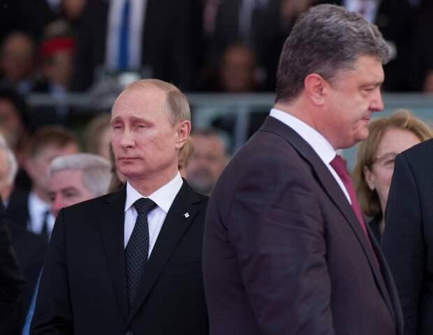 «Он меня игнорирует»: Порошенко пожаловался на Путина