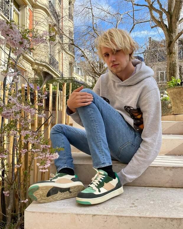 Лукас Портман fashion baby