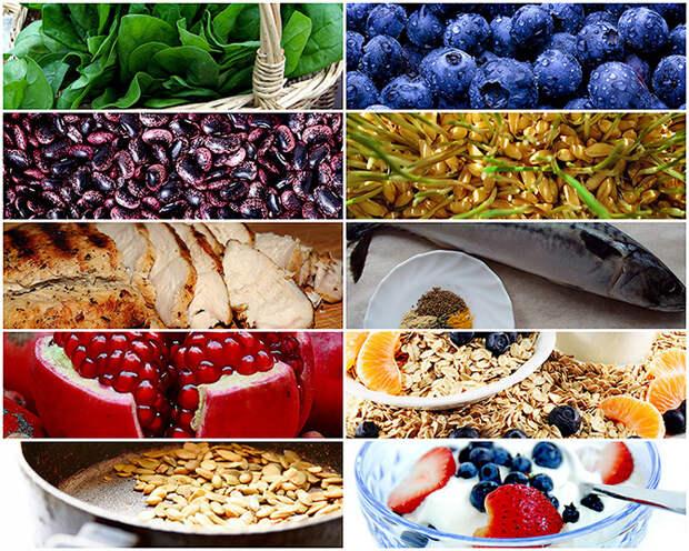 10 продуктов против усталости