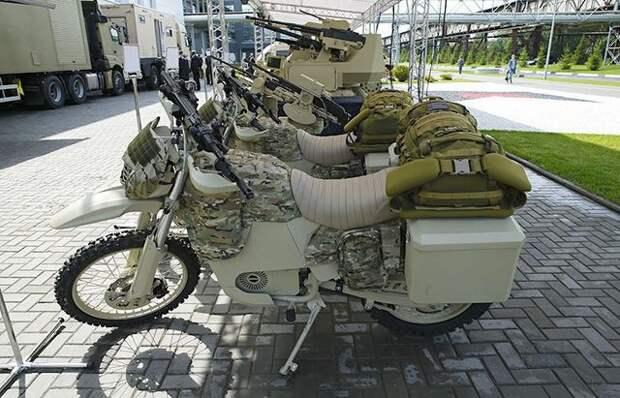 Электрический мотоцикл от концерна «Калашников» (14 фото)