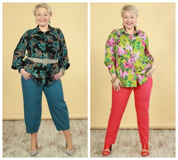 Фото 7, 8 - брюки и блузка NadiN