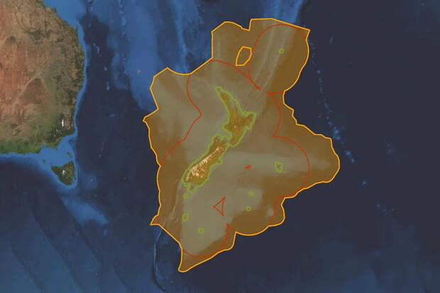 Найден 7-ой континент, который на 94% находится под водой