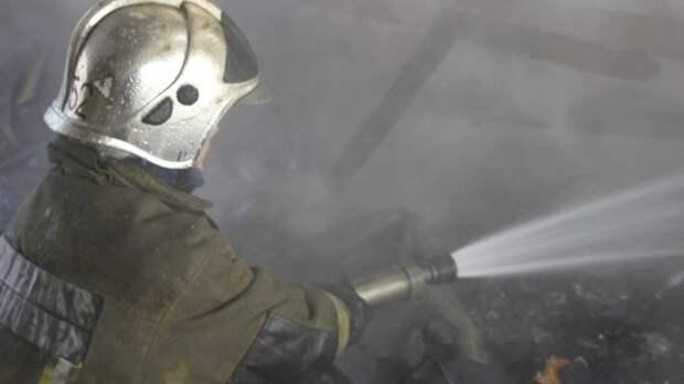 Огнеборцы смогли локализовать пожар в селе Табачном в Крыму