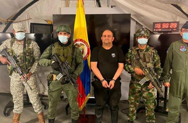 В Колумбии задержан самый разыскиваемый преступник страны Даиро Антонио Усугу