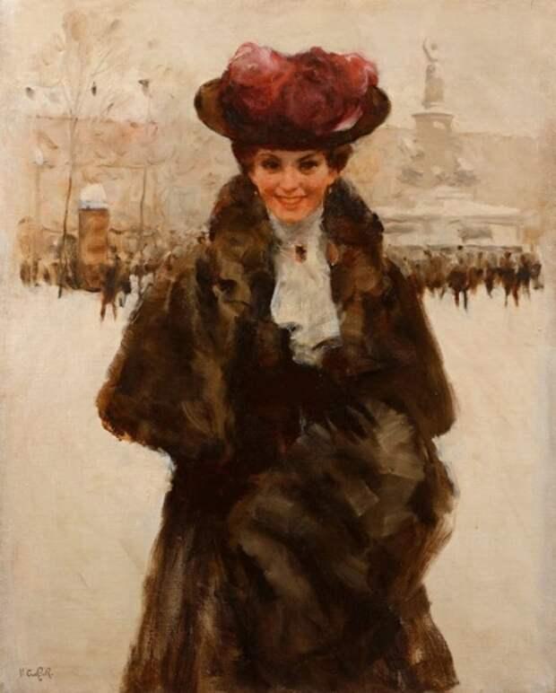 Художник Victor Guerrier (1893 – 1968). Нежная красота Парижа