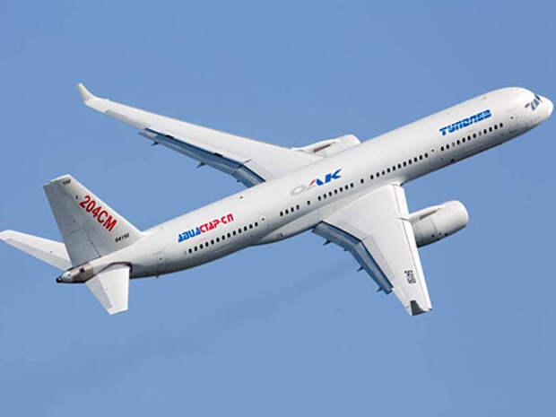 В Туполеве заверяют, что Ту-204СМ - совершенно готовый для полетов в авиакомпаниях самолет