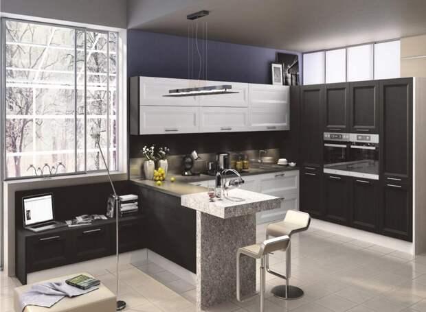 Дизайн кухни 8 кв. м: фото, новинки 2020 (57 фото)