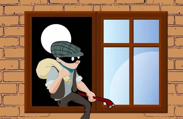 Больше всего краж происходит в квартирах на первых и вторых этажах/ Pixabay