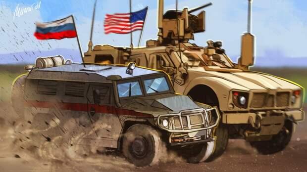 Минобороны РФ объяснило блокировку американской колонны в Сирии