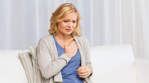Боль в груди сердечный приступ тревога