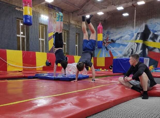 Сборную по прыжкам на батуте создадут в Удмуртии
