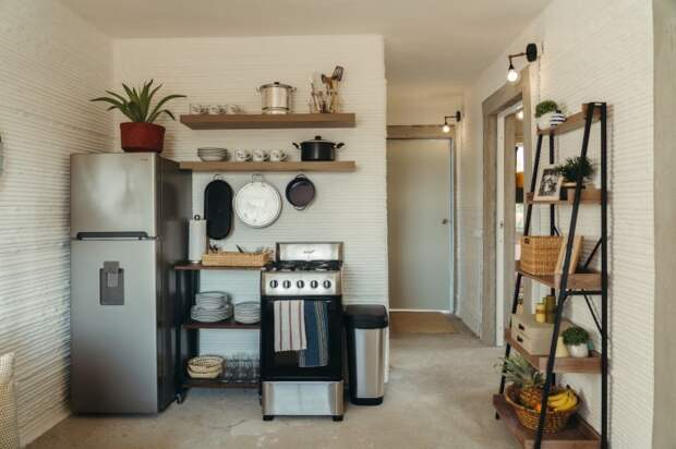 Кухня в полной комплектации станет прекрасным подарком для малоимущих граждан.   Фото: newatlas.com/ © New Story.