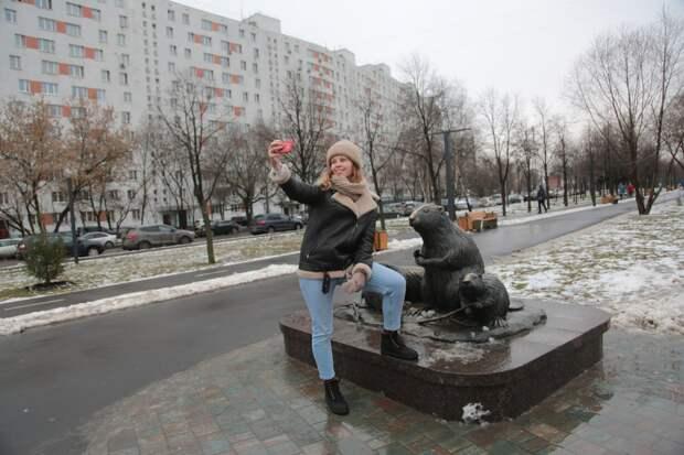 Фотосессия с бобрами/ Андрей Дмытрив