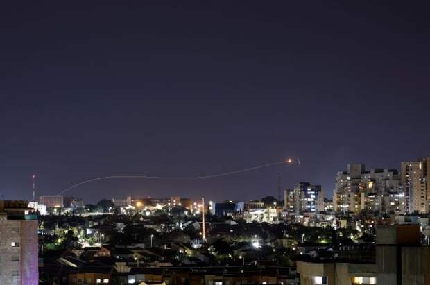 Из Газы по территории Израиля вновь выпустили ракеты