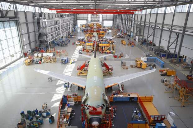 Концерн Airbus побил свой рекорд