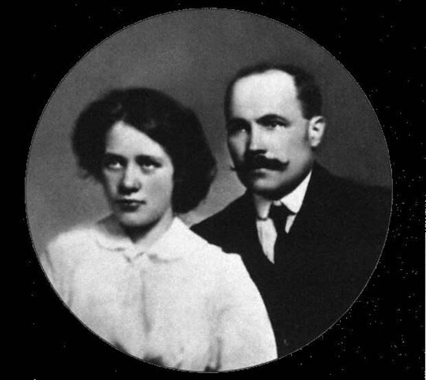 Мария Нагель и Алексей Новиков. Лондон, 1910 г.