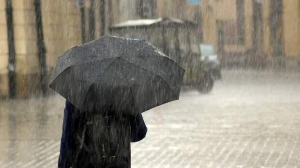 Гроза и сильный дождь могут обрушиться на Владивосток 18 июня