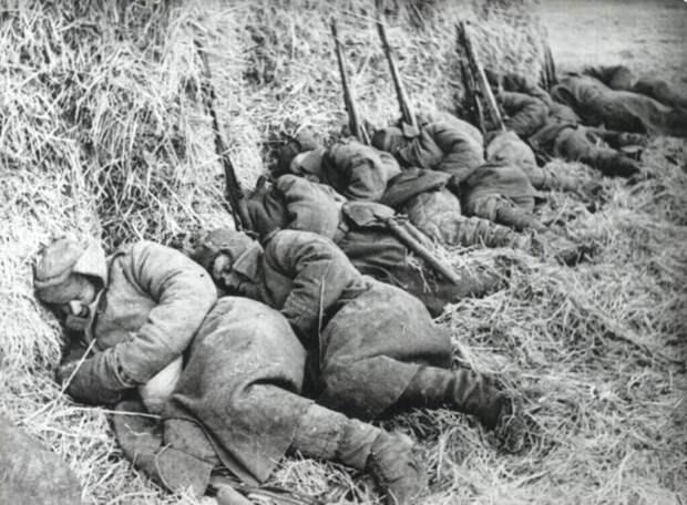 Унесённые холодом: как бойцы красной армии выживали в -40