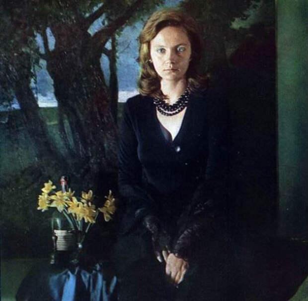 Актрисы и цветы: Ирина Купченко