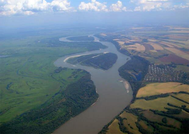 Самые большие реки России