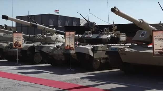 Российские, американские и китайские танки сняли в одном строю