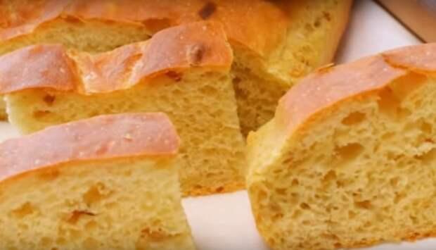 """Новый ароматный луковый хлеб """"Чипполино"""""""