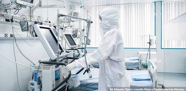 В Москве за сутки выявлено 4082 заразившихся коронавирусом. Фото: М. Мишин mos.ru