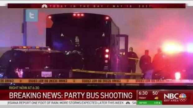 В Калифорнии расстреляли праздничный автобус, погибли две женщины