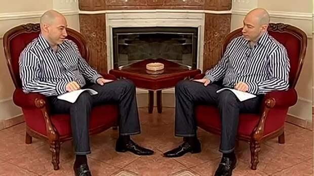 Гордон подговаривает украинских переговорщиков устроить прощальный демарш